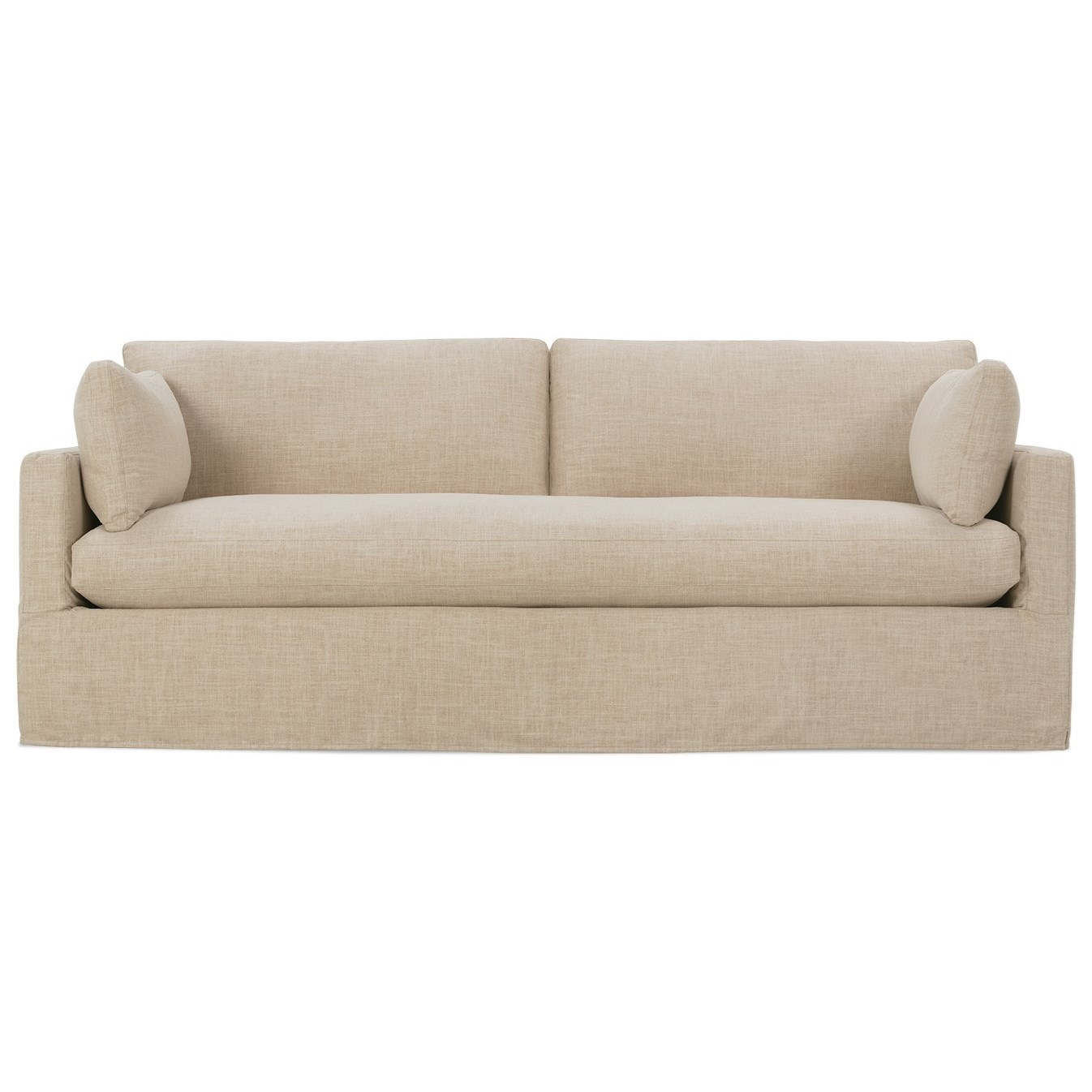 Bon RB By Rowe Sylvie Customizable Sofa With Bench Seat And Slip Cover