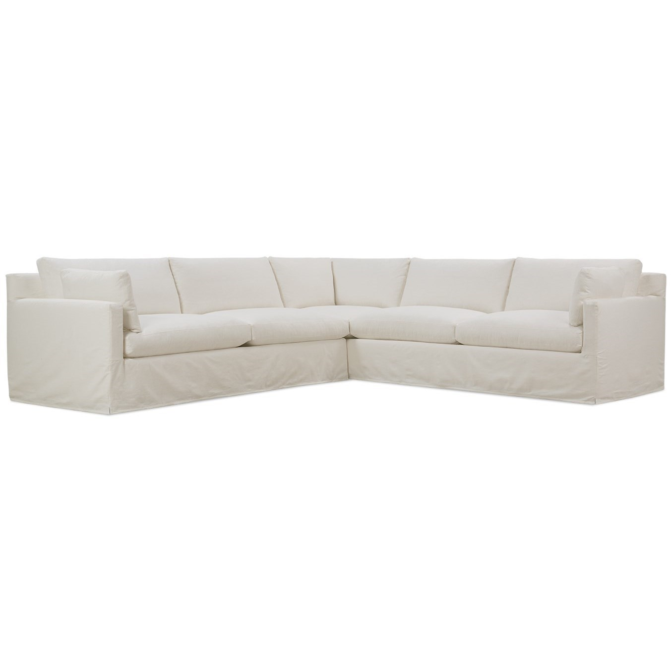 Robin Bruce SylvieSlip Covered Sectional ...