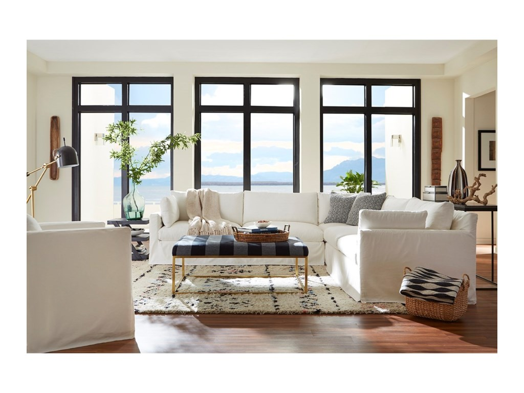 Robin Bruce SylvieSlip Covered Sectional