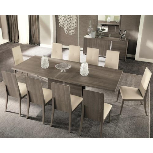 40 Grey Dining Room Table Sets Olivia Weathered Grey: Alf Italia Tivoli 11 Pc Dining Set