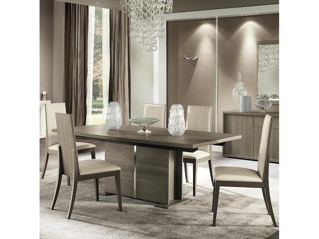 d138a37070 Alf Italia Tivoli Seven Piece Weathered Grey Dining Set | Stoney ...