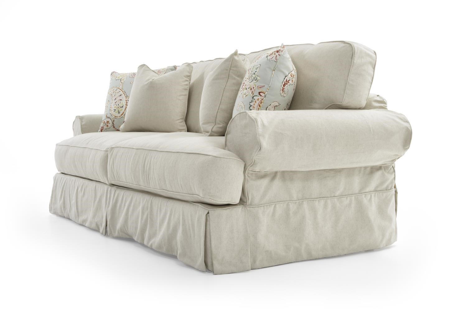 ... Rowe Addison Traditional 2 Seat Sofa With Slipcover ...