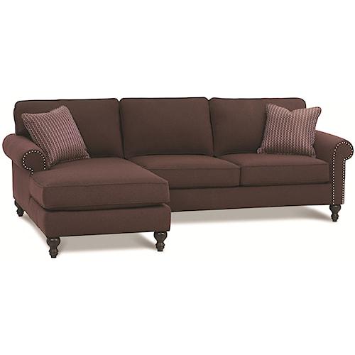 Rowe Bleeker - RXO <b>Customizable</b> Left Chaise Sectional Sofa