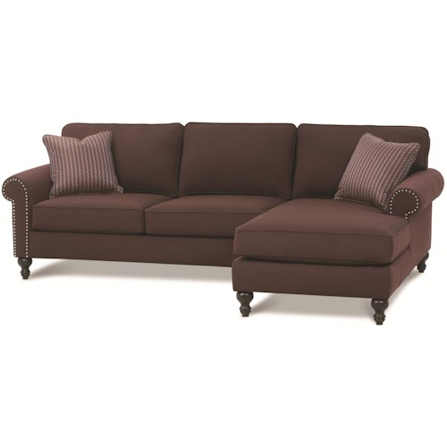 Rowe Bleeker - RXO <b>Customizable</b> Right Chaise Sectional Sofa