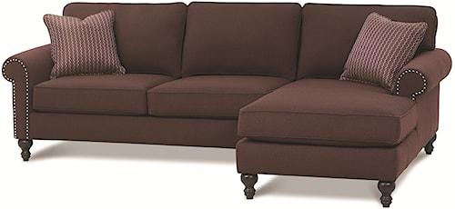 Rowe Bleeker - RXO <b>Customizable</b> Right Chaise Sectional Sofa