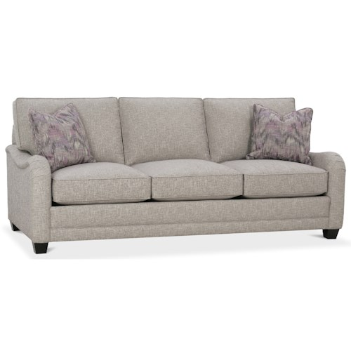 Rowe My Style Traditional Sofa with English Arms