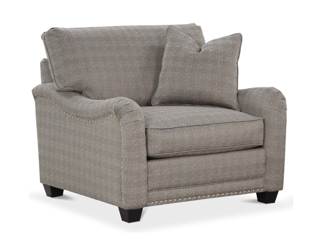 Shown with nailhead trim available through premium options.