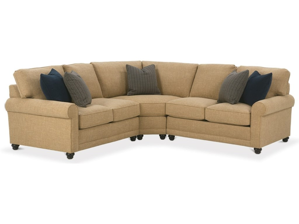 Rowe My Style ICustomizable Sectional Sofa