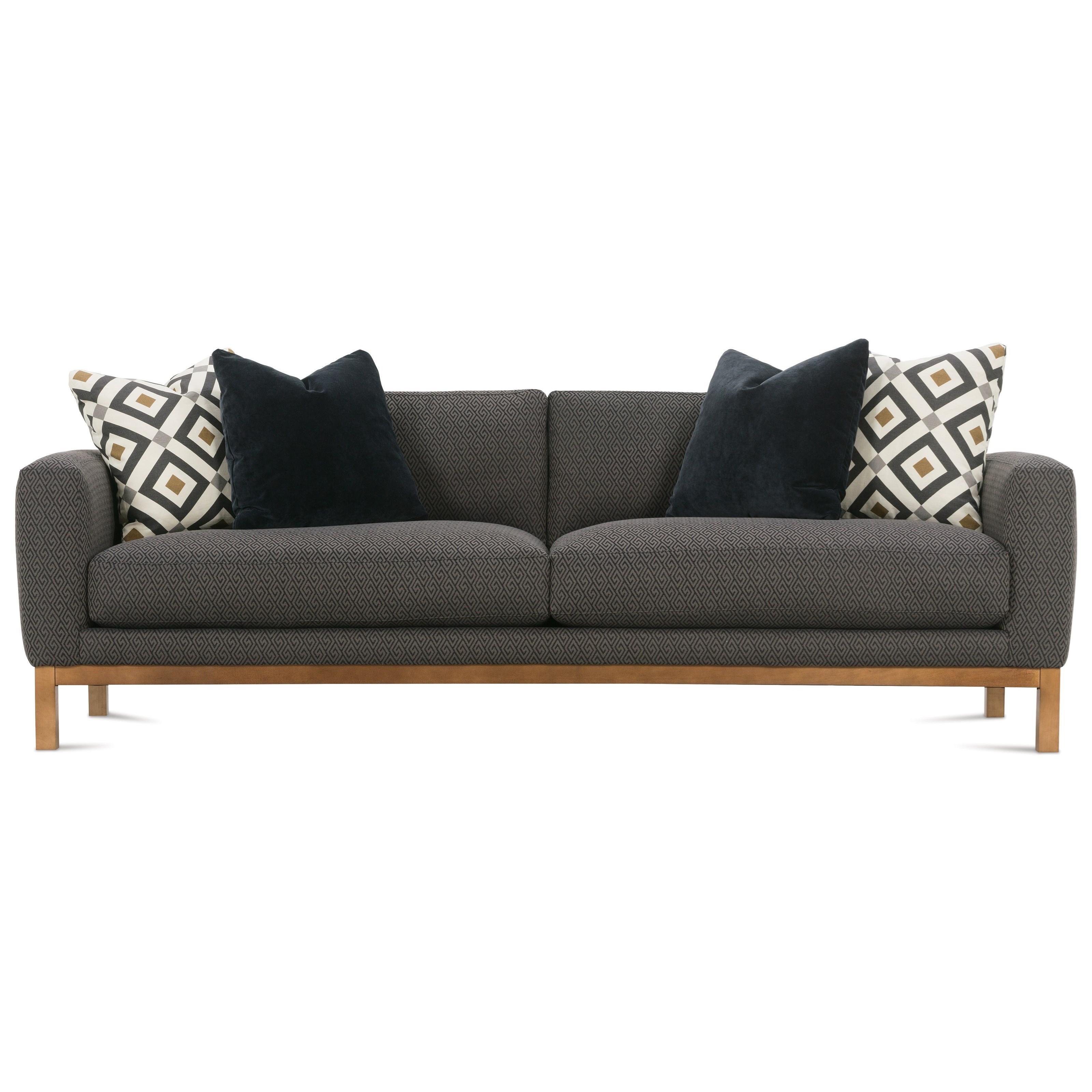 Contemporary Wood Sofa. Contemporary Wood Sofa M