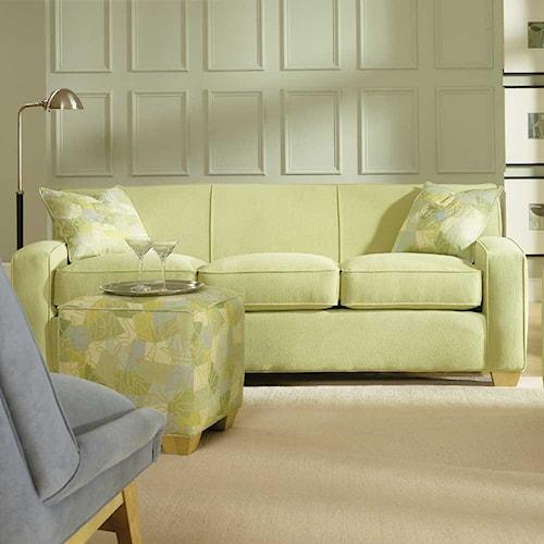 Rowe Horizon Three Seat Fabric Sofa