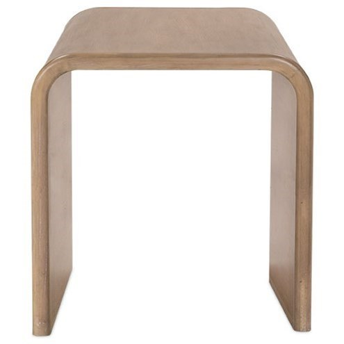 Contemporary End Table with Adjustable Floor Glides