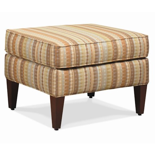 Rowe Chairs and Accents Times Square Accent Ottoman