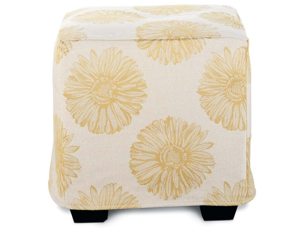 Rowe Chairs and AccentsLe Parc Slipcover Ottoman