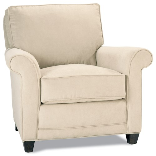 Rowe Chairs and Accents Pillow Back Resting Chair