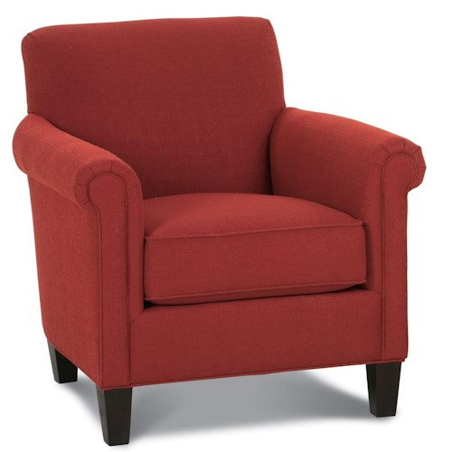 Rowe Chairs and Accents McGuire Casual Arm Chair