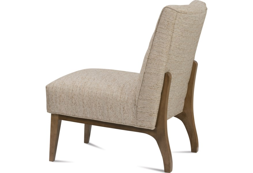 Rowe Chairs and Accents Campbell Contemporary Armless Accent ...