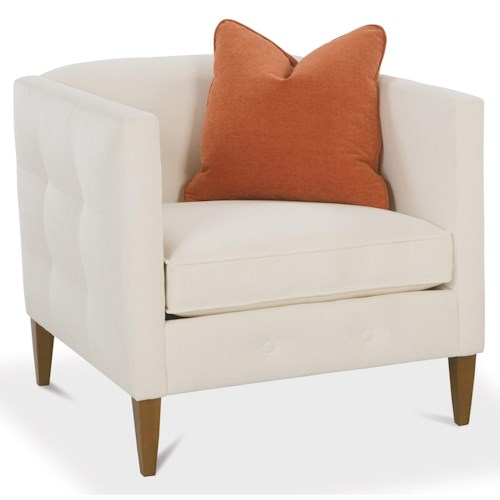 Rowe Claire  Contemporary Arm Chair