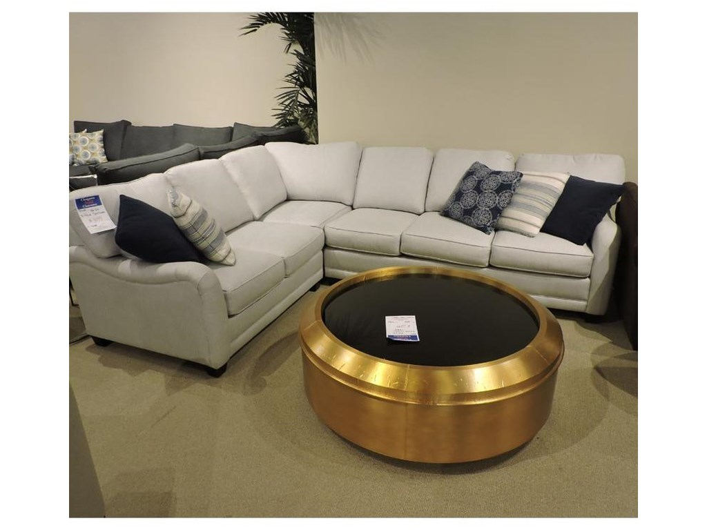 Rowe   3 Piece Sectional
