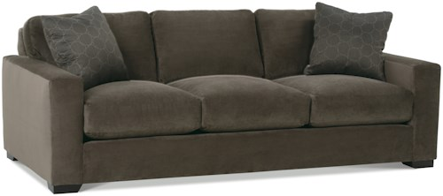 Rowe Dakota Three Cushion Contemporary Sofa