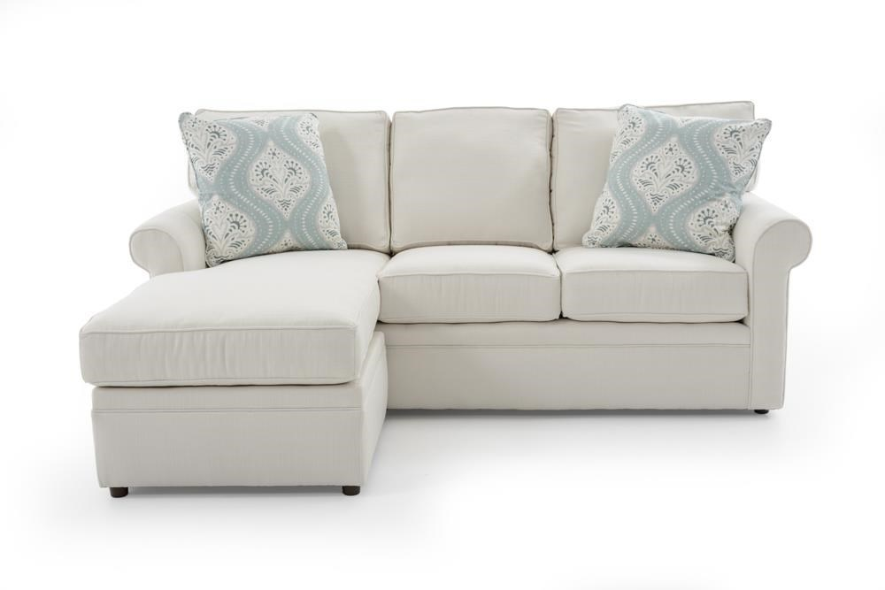 Dalton Sofa With Reversible Chaise Ottoman By Rowe At Baeru0027s Furniture