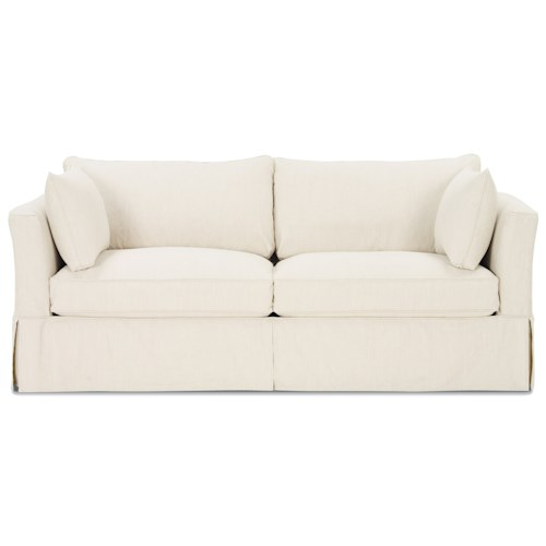 Rowe Darby Upholstered Slipcover Stationary Sofa