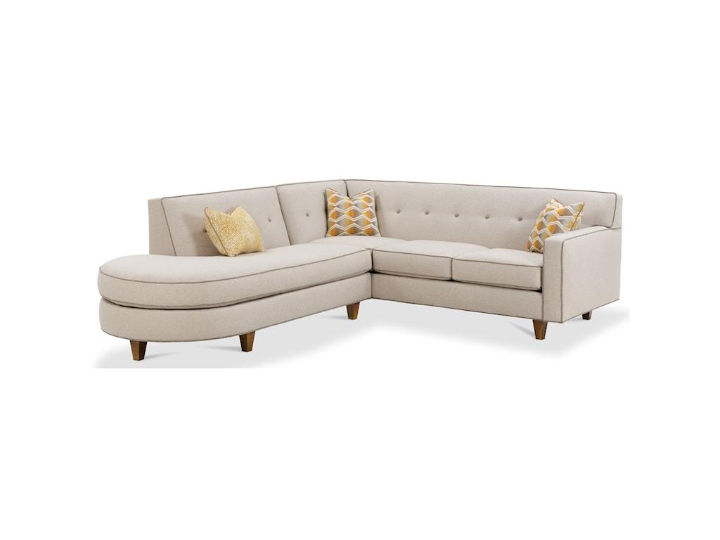 Rowe DorsetContemporary 2 Piece Sectional Sofa