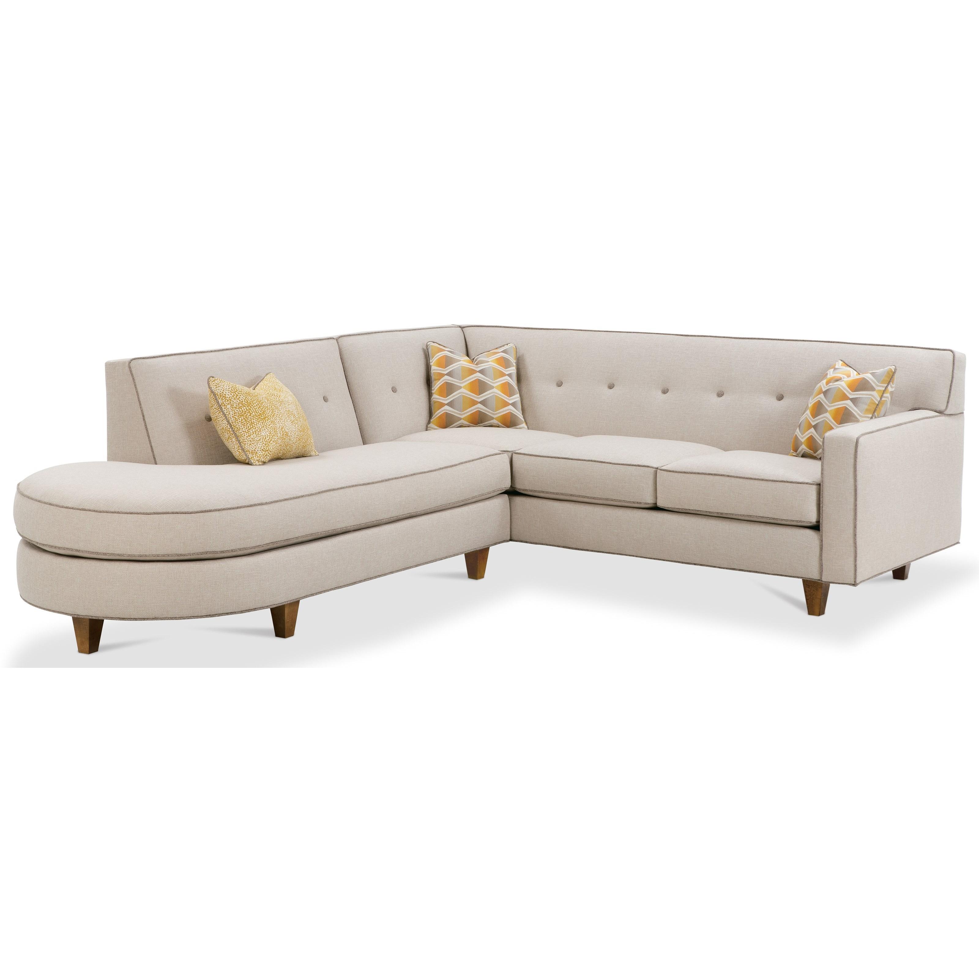 Rowe DorsetContemporary 2 Piece Sectional Sofa ...