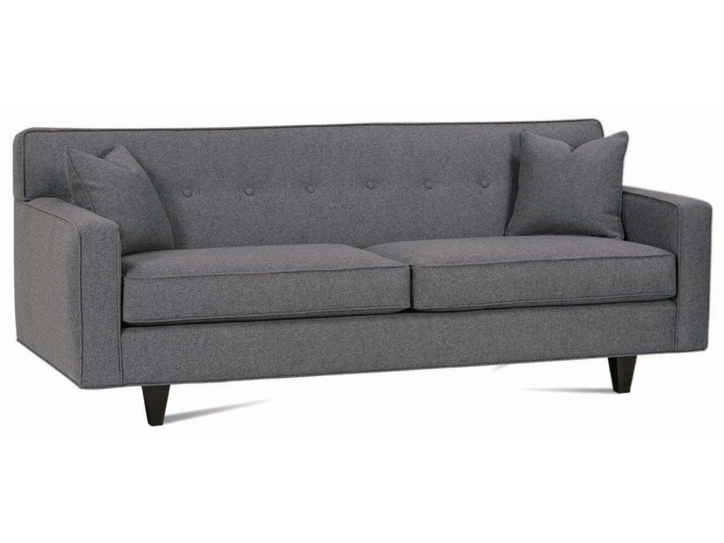 Rowe Dorset Contemporary 80 2 Cushion Sofa With Track Arms