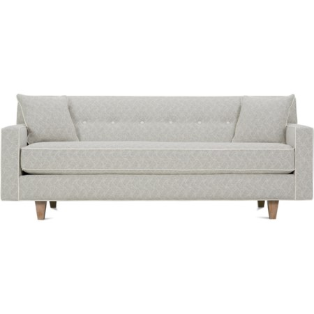 "80"" Bench Cushion Sofa"