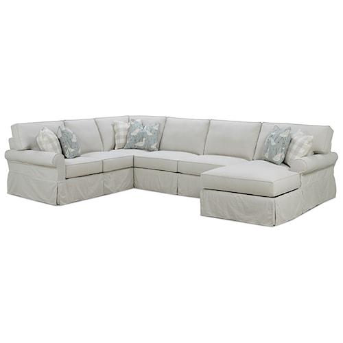 Rowe Slipcovered Sofa Barnett Furniture Rowe Addison