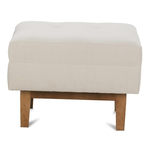 Rowe Ethan  Mid-Cenutry Modern Chair Ottoman
