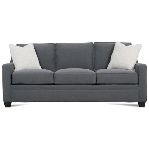 Rowe Fuller Transitional Three Cushion Sofa