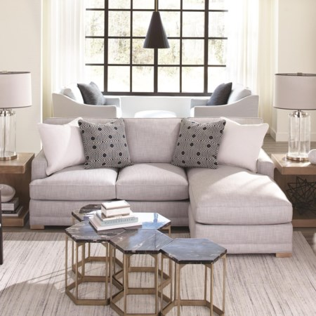 2-Piece Sectional with LSE Chaise