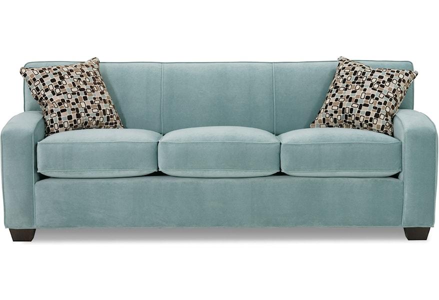 Rowe Horizon Transitional Sofa With