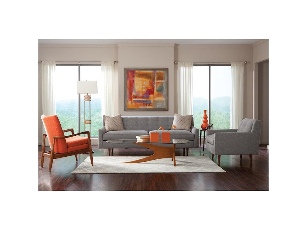 Rowe KempnerStationary Living Room Group