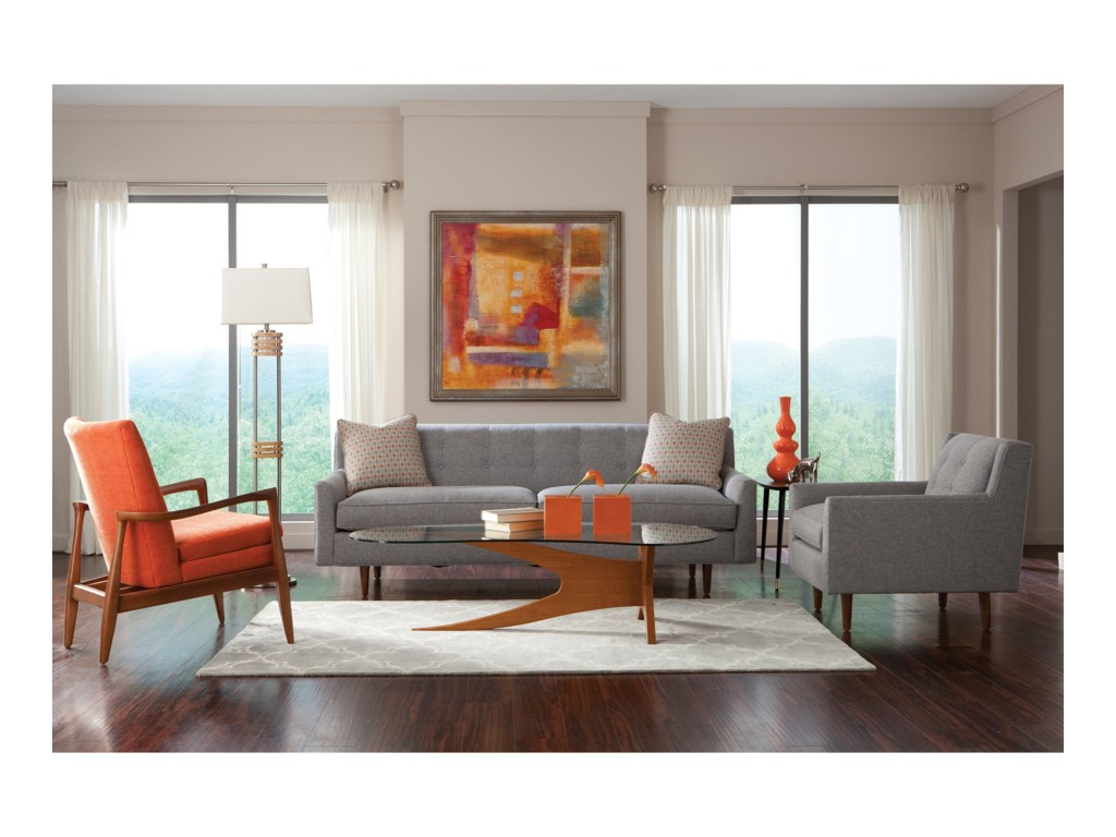 Rowe KempnerStationary Living Room Group