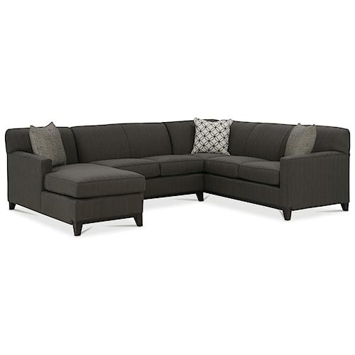 Rowe Martin 3 Piece Sectional Sofa