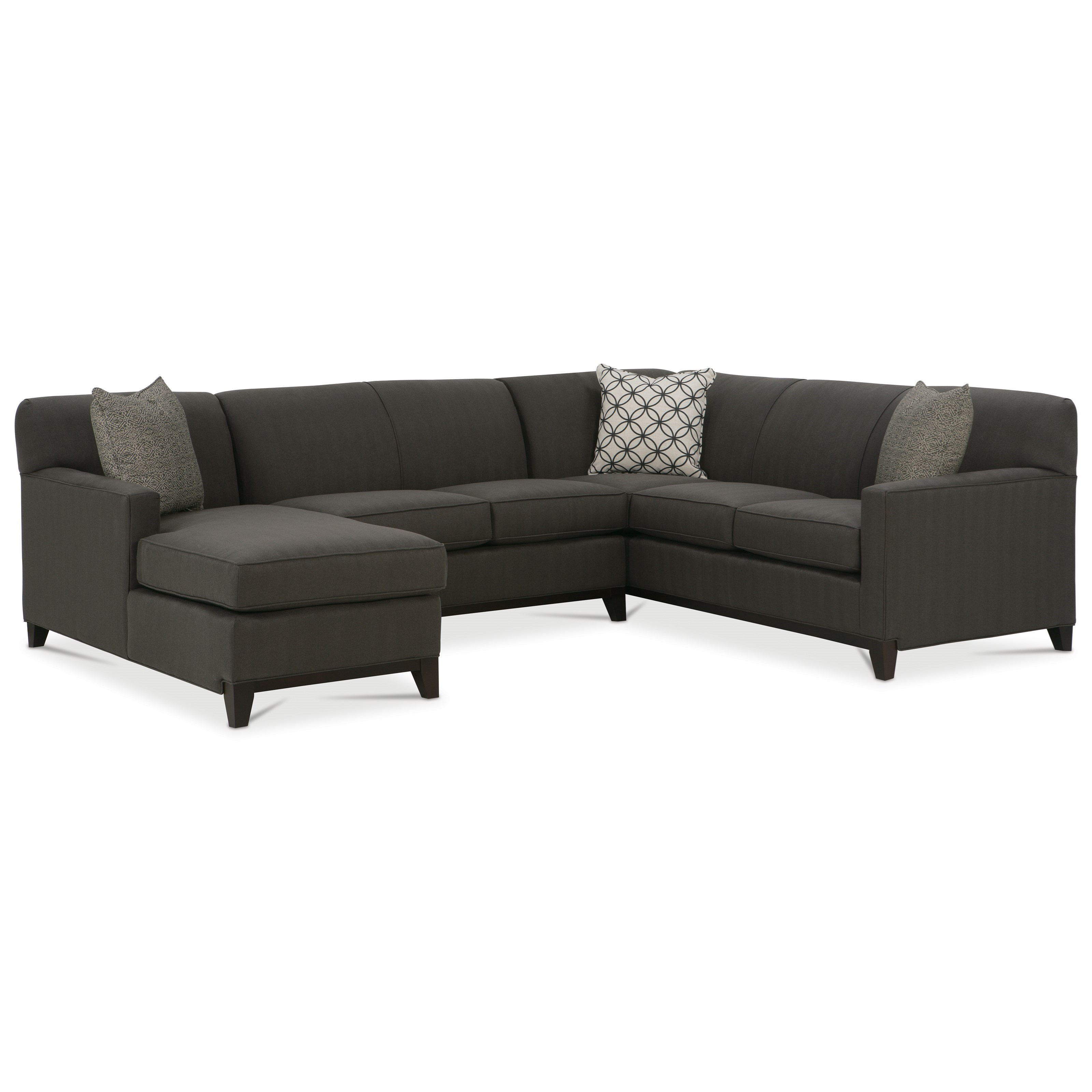 Rowe Martin 3 Piece Sectional Sofa | Belfort Furniture | Sectional Sofas