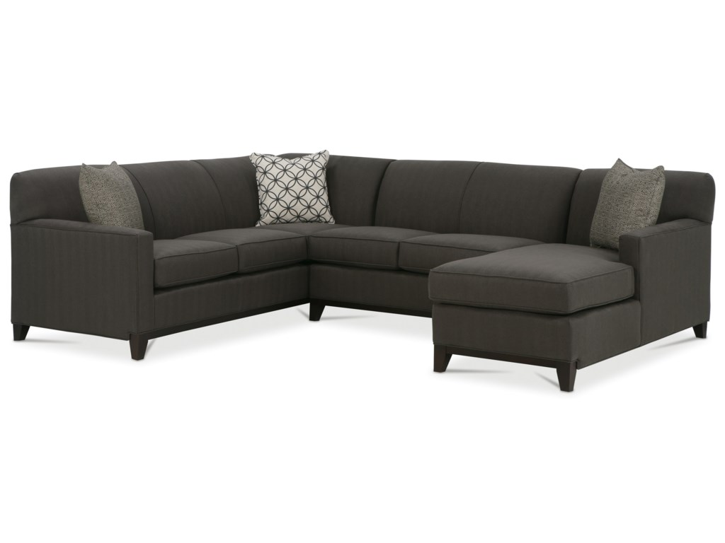 Rowe Martin 3 Piece Sectional Sofa Sprintz Furniture