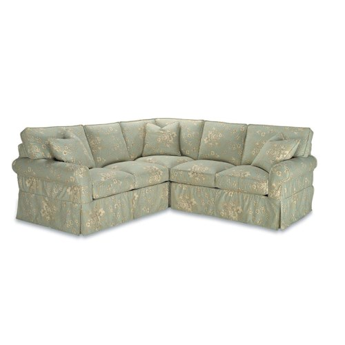 Rowe Masquerade Casual Style Sectional Sofa