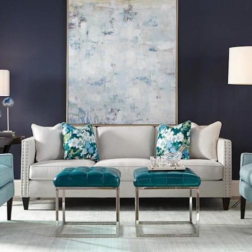 Rowe Mitchell <b>Customizable</b> Stationary Sofa