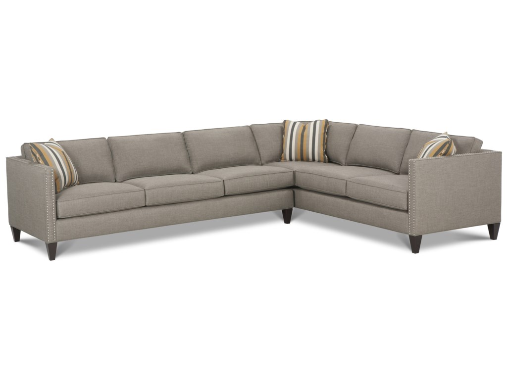 Rowe mitchellcustom sectional sofa