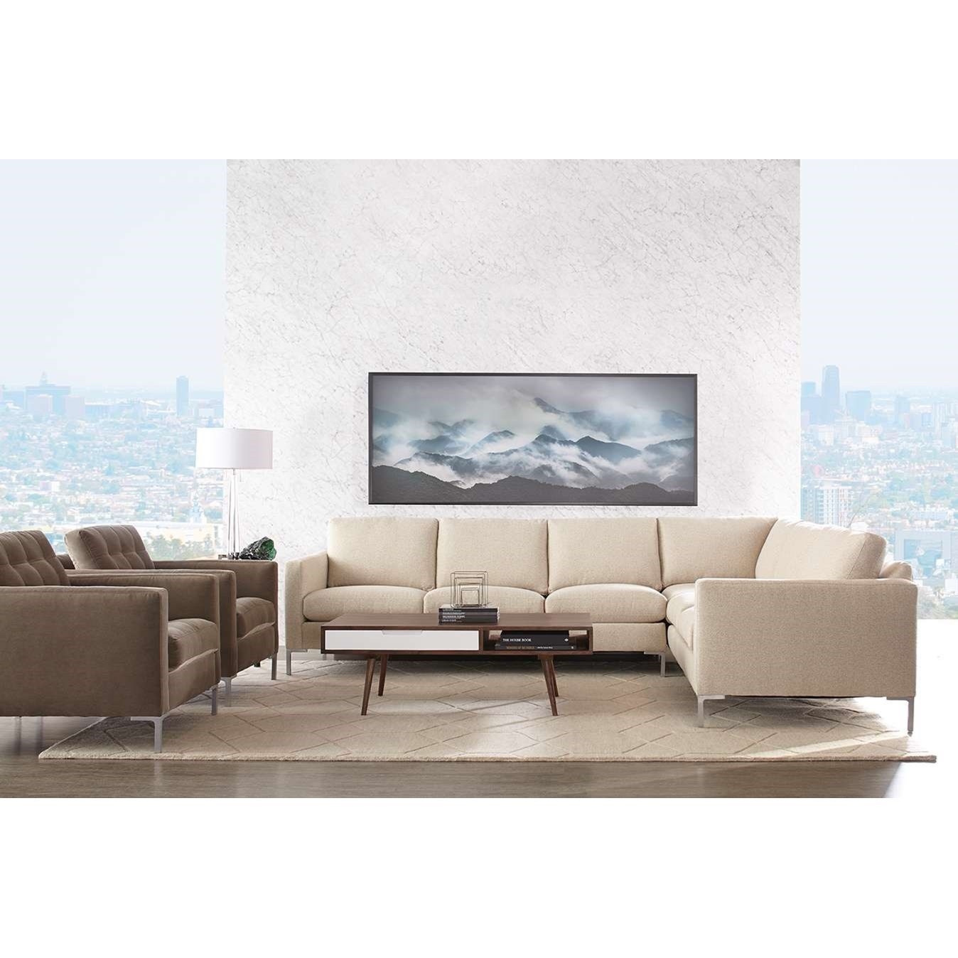 Rowe Modern MixSectional Sofa ...