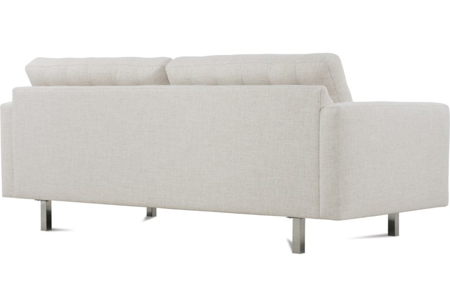 Rowe Modern Mix Contemporary Apartment Sofa with Straight ...
