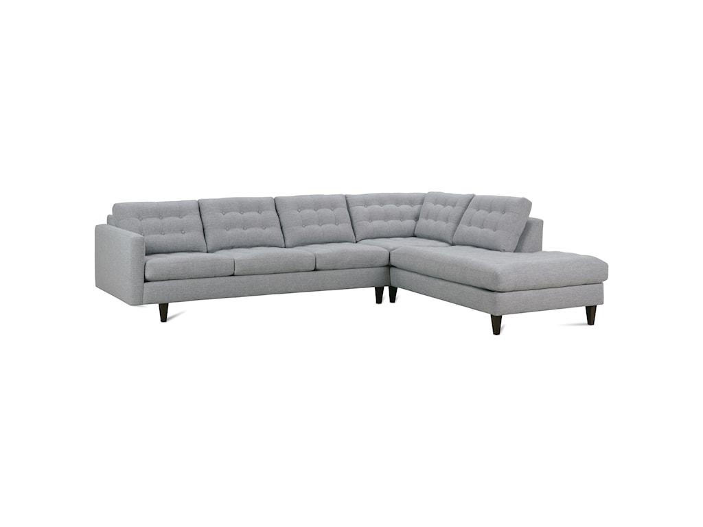 Rowe Modern MixSectional Sofa