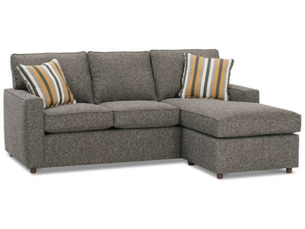Rowe MonacoTransitional Sofa with Chaise