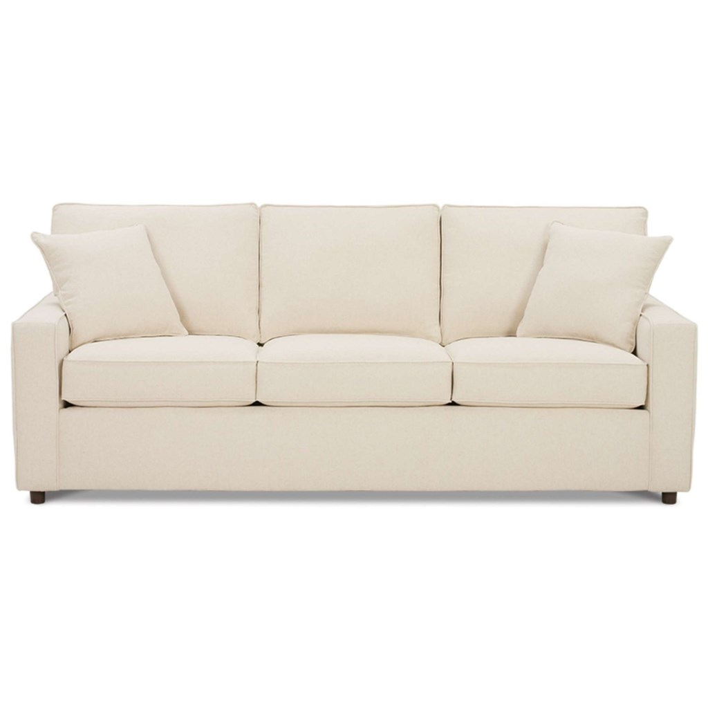 Rowe Monaco D180 000 Transitional Sofa With Track Arms Hudson S  ~ What Is A Transitional Sofa