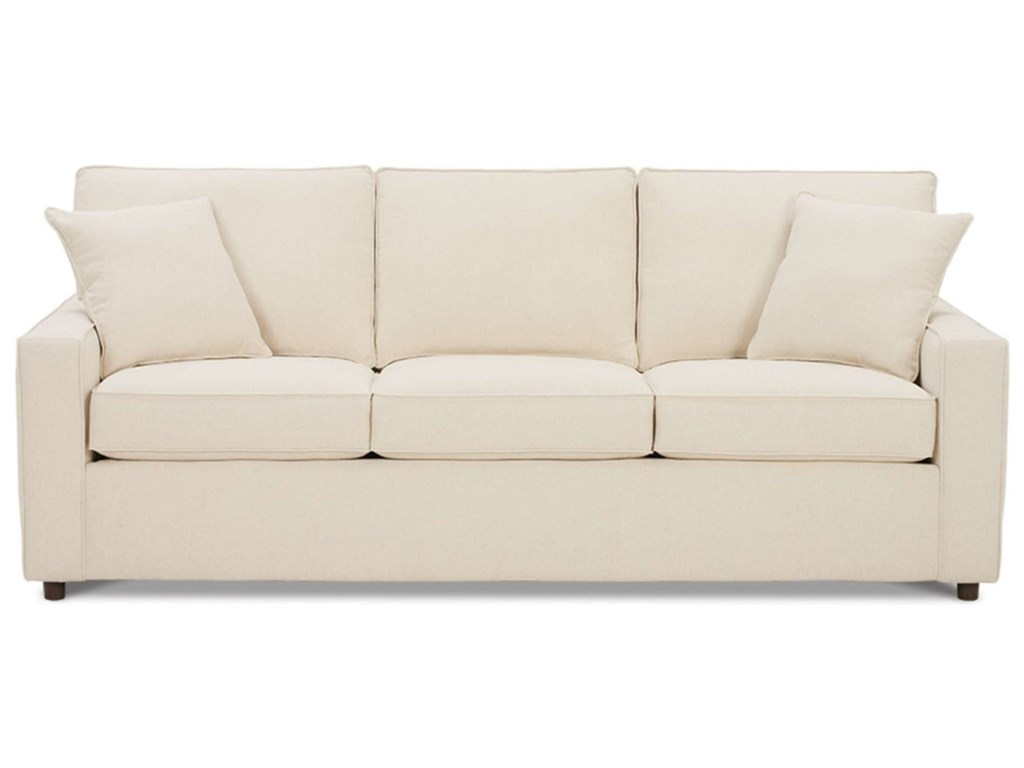 Rowe MonacoTransitional Sofa with Track Arms