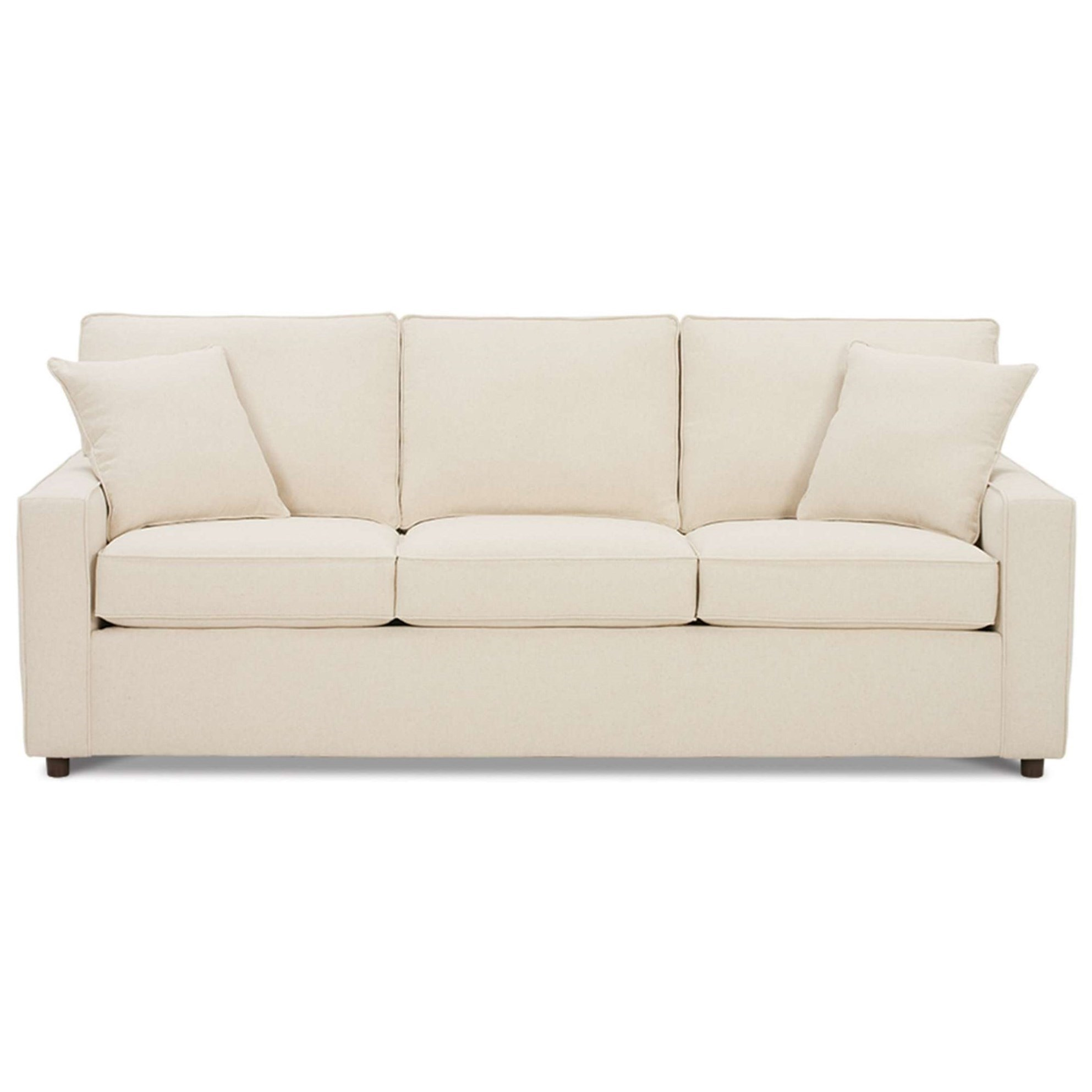 Rowe Monaco Transitional Sofa With Track Arms