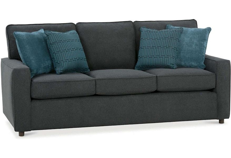 D189 000 Transitional Sofa Sleeper
